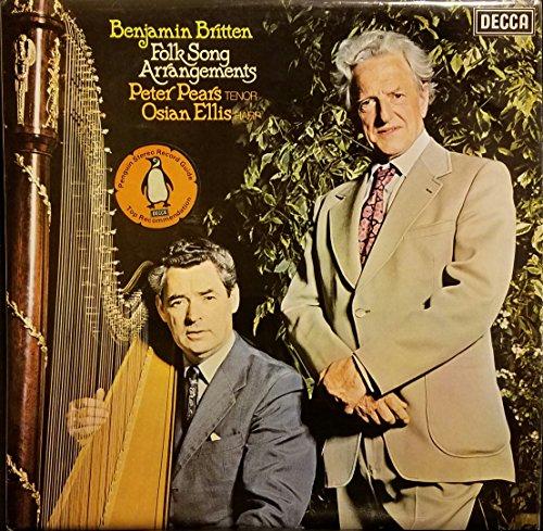 Arrangement Pears - Benjamin Britten: Folk Song Arrangements - Peter Pears / Osian Ellis