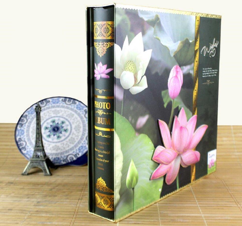 LJ&L Libro de fotos fotos de de gama alta, puede acomodar de 5 pulgadas a 7 pulgadas de fotos, caja de regalo Interstitial álbum de fotos, aniversario y regalo de cumpleaños,A 2bca66