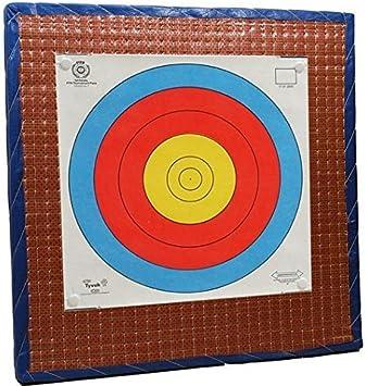 Cible de tir à l/'arc de paille Ø 65 cm peint