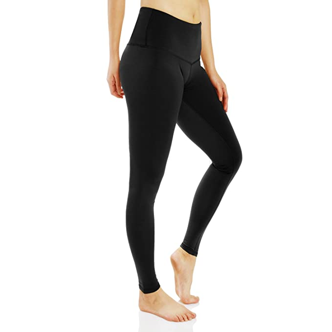 454ba37698e40 MYJBILL Women Winter Warm Fleece Lined Leggings, High Waist Yoga Pants,  Stretch Pants (