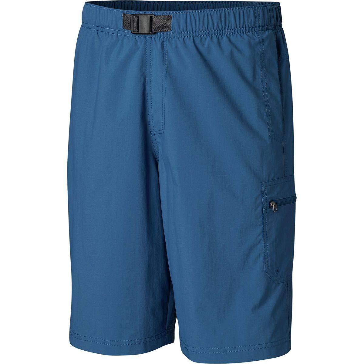 Columbia Men's Palmerston Peak Short, Waterproof, UV Sun Protection, Impulse Blue, Small x 9'' Inseam by Columbia