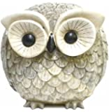 Roman Pudgy Pal Garden Figure,75260, Owl, 6.75 inches tall
