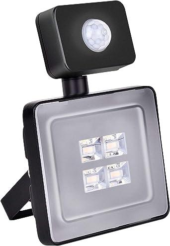 Foco LED Exterior, Yuanline 10W Iluminación de Seguridad con ...