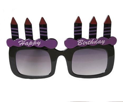 Octa due Corporation occhiali da sole torta di compleanno nero 9x15cm y6A5ydB