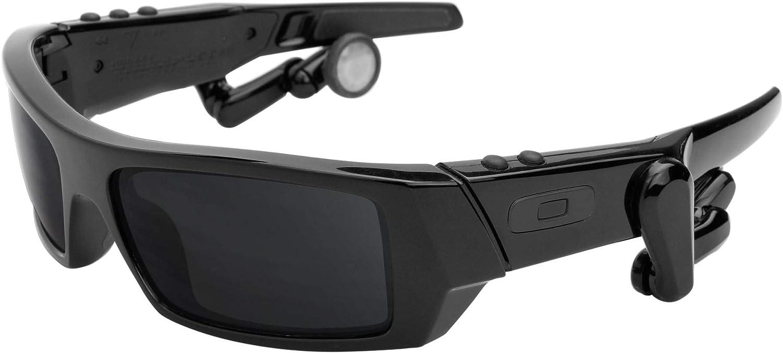 Revant Verres de Rechange pour Oakley Thump 2 - Compatibles avec les Lunettes de Soleil Oakley Thump 2 Chromé Noir Mirrorshield - Polarisés