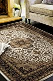 2652 Oriental Ivory 8 x 11 Area Rug Carpet Large New
