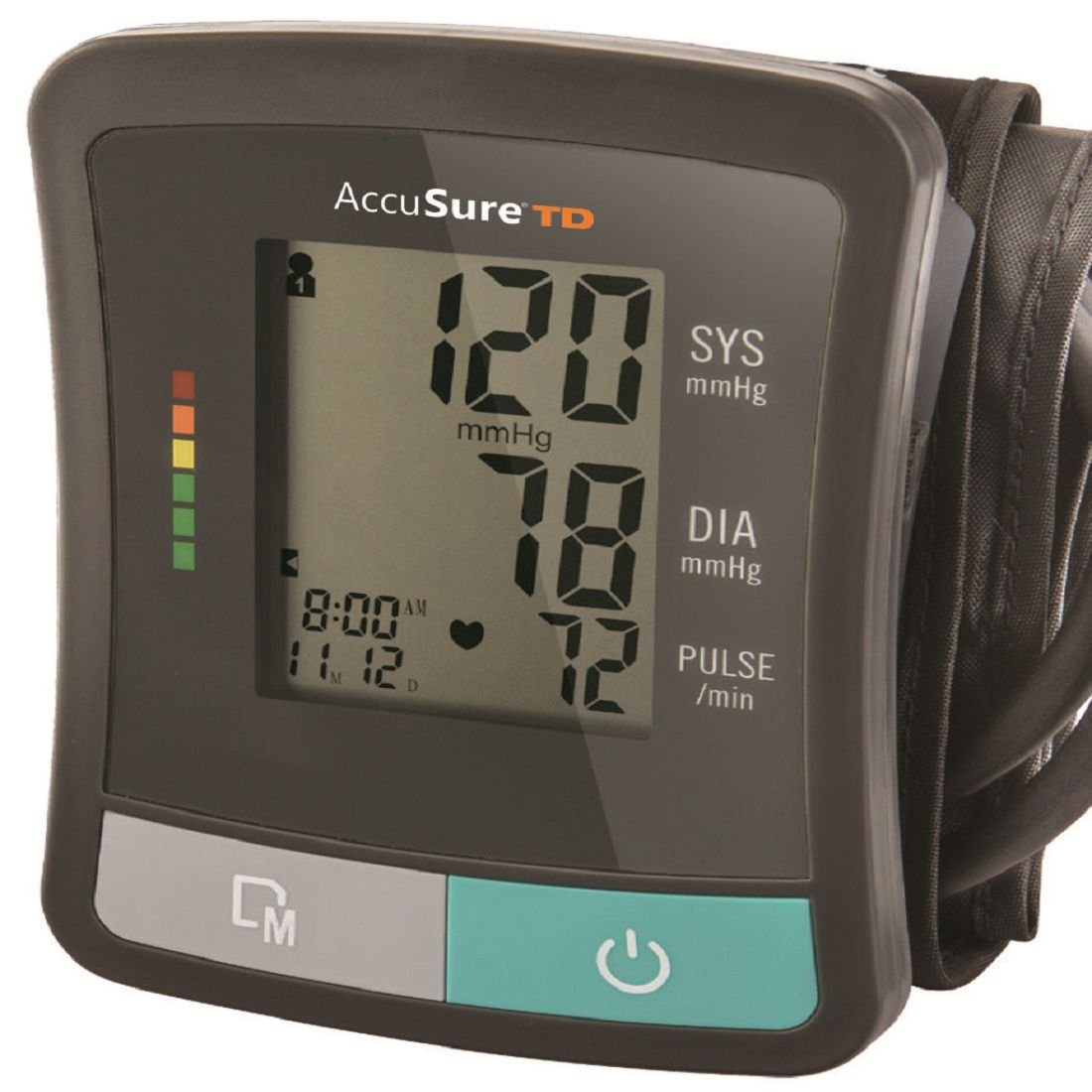 Accusure TD Blood Pressure Monitoring System With Upper Arm Standard Cuff (B07FRY89R2) Amazon Price History, Amazon Price Tracker