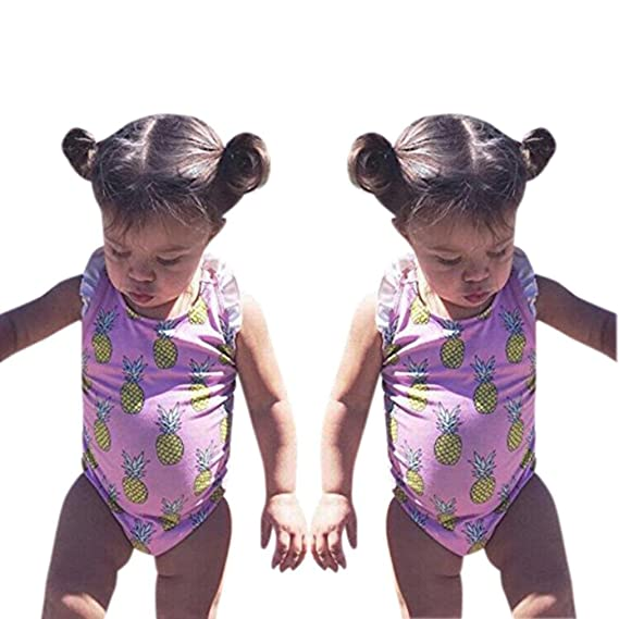 c2a801c16 Bebe Niña Bikini Conjunto, K-youth® 2018 Barato Bañador bebé niñas Traje de  Baño Bebe ...