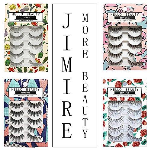 4f8982f0b3d JIMIRE False Eyelashes Demi Lashes Multipack - Natural - Import It All