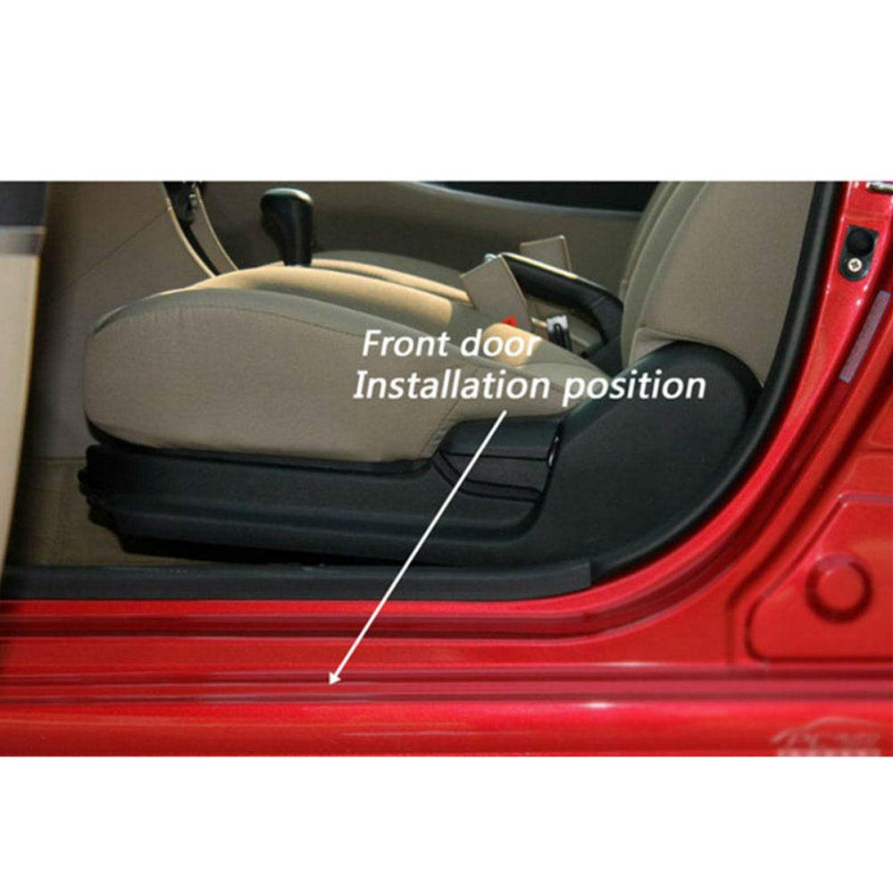 para Fiat 500x 2014-2018 Protector de Asiento Coche Door Sill Accesorio GLFDYC 4Pcs Acero Inoxidable Umbral de Puerta Placa Laterales Listones Styling Proteccion