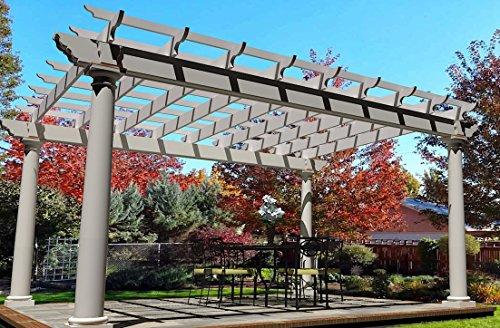 Pergola Plans for Patio, Outdoor Kitchen or Pool Area 16' x 20' (PLANS (Pergola Plans Designs)