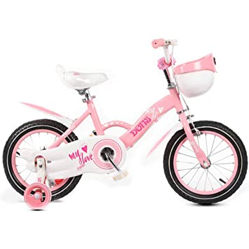 MUYU Bicicleta para niña Bici 12(14,16,18) Pulgadas Bicicleta ...