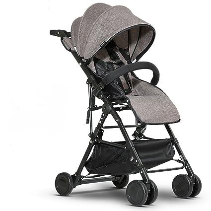 La carretilla del bebé de la aleación de aluminio puede mentir la rueda plegable convertible de