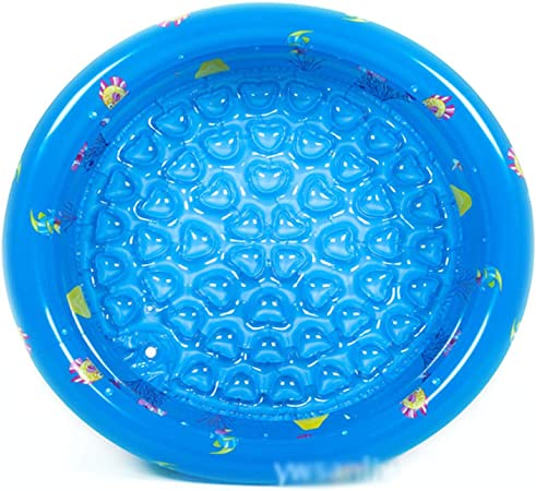 JINMM Piscina Hinchable Infantil para Bebés Niños, Redonda Piscinas, Adecuado Familiar Swimming Pool-Azul,110 * 30cm Three Ring: Amazon.es: Hogar
