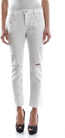 Diesel Belthy-Ankle Pantaloni Vaqueros Straight para Mujer
