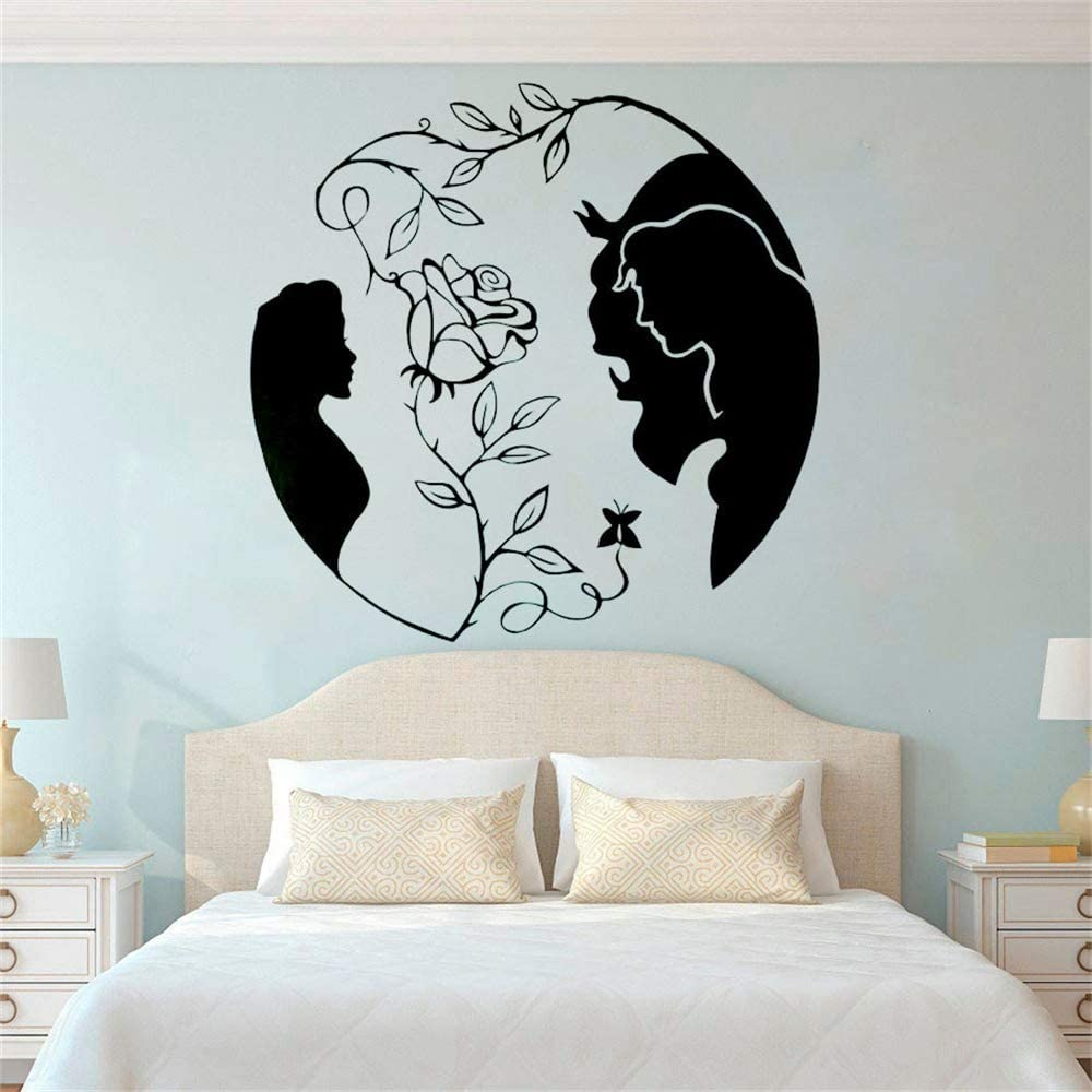 Beauty And The Beast Vinyl Decal For Frames