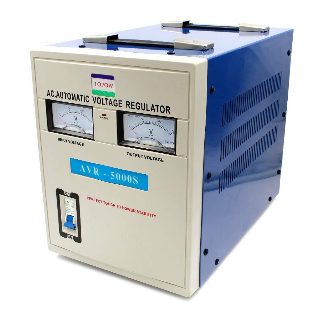 5000 Watt Voltage Step Down Transformer Regulator And Automatic Power Supply Circuit Free Electronic Stabilizer Heavy Duty Electronics