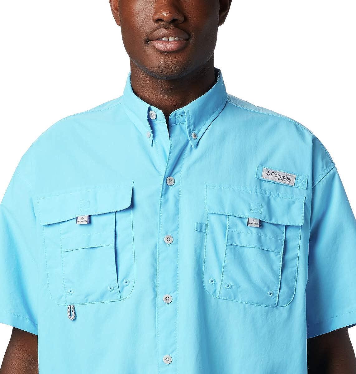 Columbia Mens PFG Bahama II Short Sleeve Shirt/—Tall
