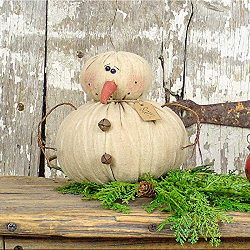 (Honey & Me Sam The Snowman 6 x 5 x 5 Plush Christmas Figurine Decoration)