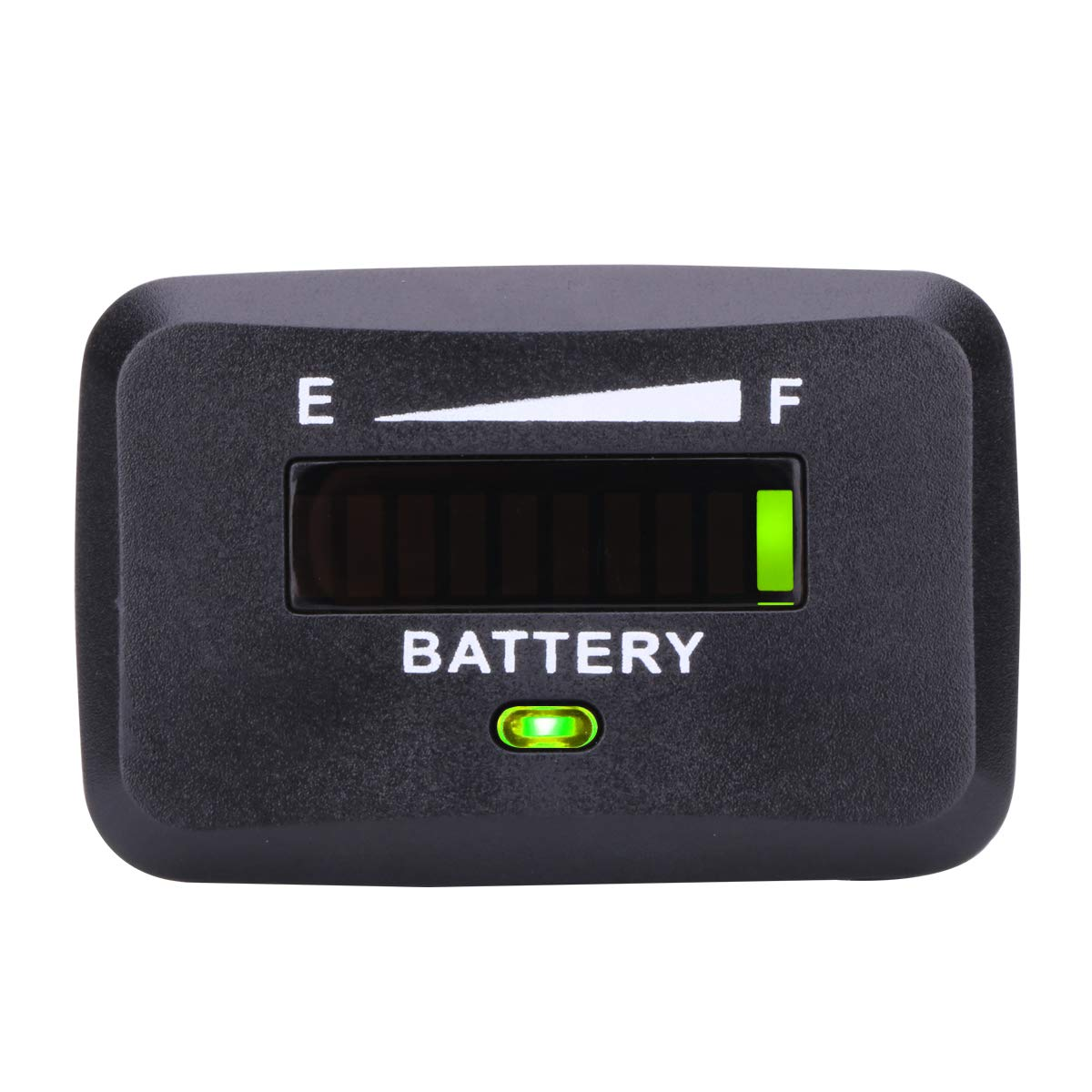 AIMILAR Golf Cart Battery Indicator Tester Battery Charge Discharge Status Gauge Meter for Lead-Acid Battery Club Car (12/24V)