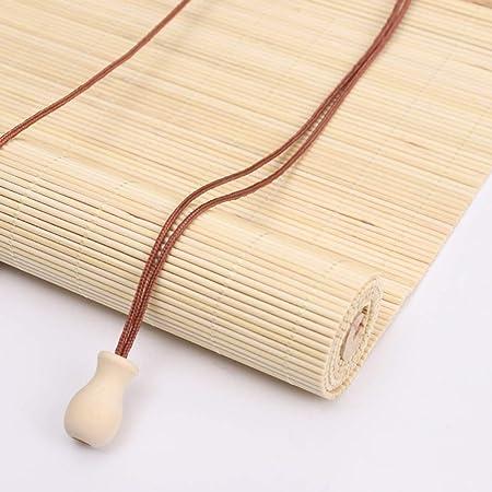 Persiana de bambú Cortina Enrollable Exterior, Natural, Filtro De Luz Enrollable, Persiana para Patio, Pérgola, Balcón, 85cm / 105cm / 125cm / 145cm De Ancho (Size : 125×140cm): Amazon.es: Hogar