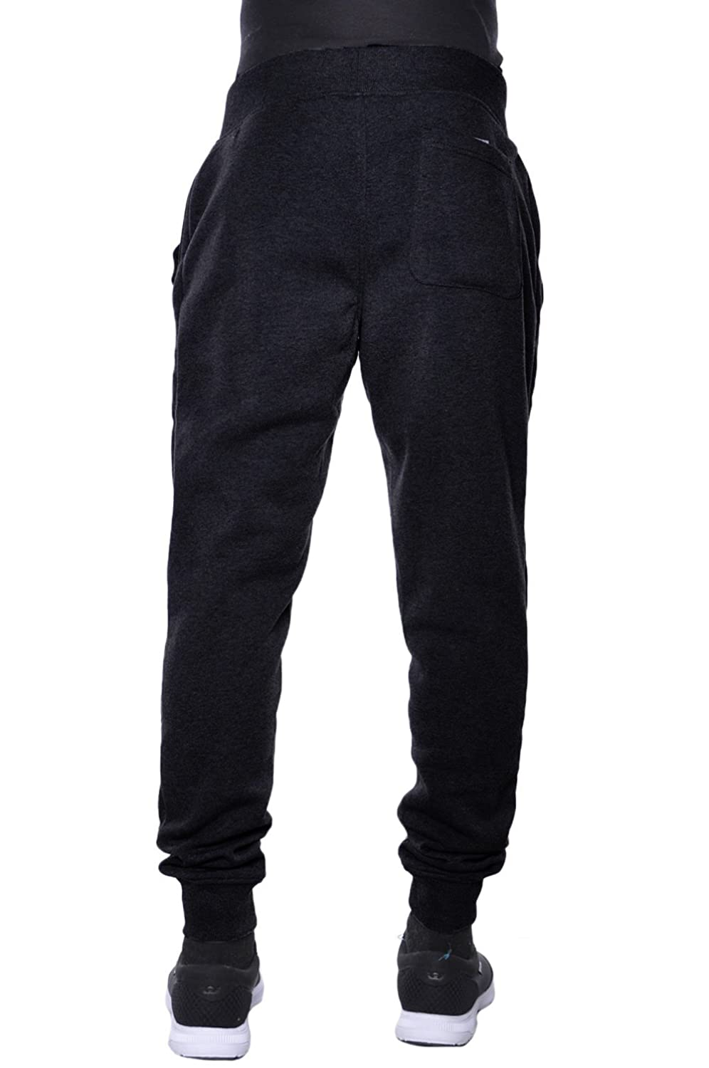 6906749a771 Amazon.com  Hat and Beyond Mens Fleece Jogger Pants Elastic Active Basic  Urban Harem Slim Fit  Clothing
