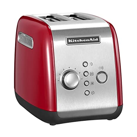 KitchenAid Classic 5KMT221EER Tostapane a 2 Scomparti, Rosso: Amazon ...
