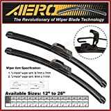 "OEM QUALITY 26"" + 16"" AERO Premium All-Season Windshield Wiper Blades (Set of 2)"