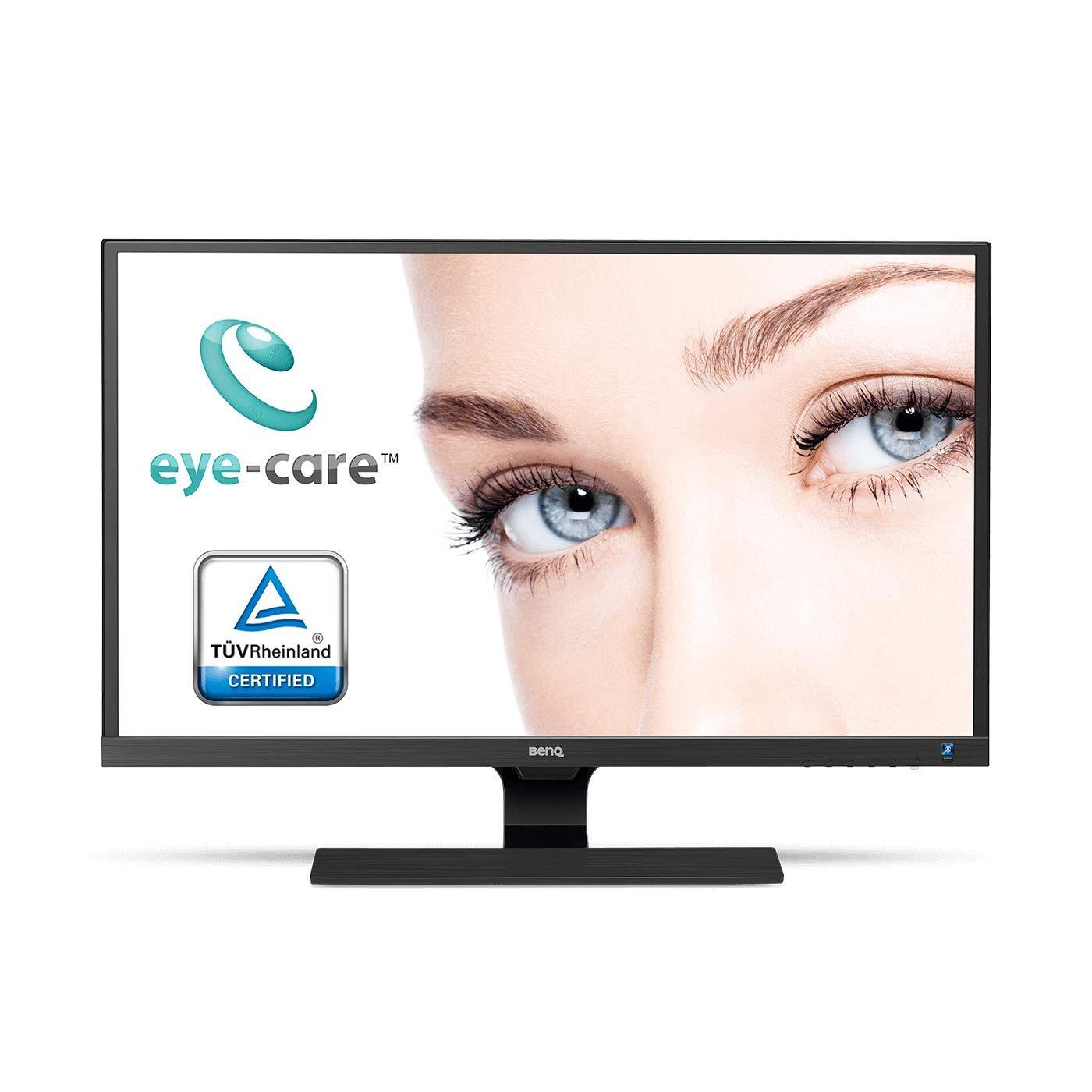 BenQ EW277HDR - Monitor de 27' FHD, HDR (Eye-Care, 1920 x 1080, Panel VA, 93% DCI-P3, 100% Rec. 709, Brightness Intelligence Plus, HDMI 2.0 x 2, VGA, Altavoces incorporados) BenQ EW277HDR - Monitor de 27 FHD