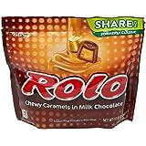 ROLO Chocolate Caramel Candy, 10.6 oz Bag