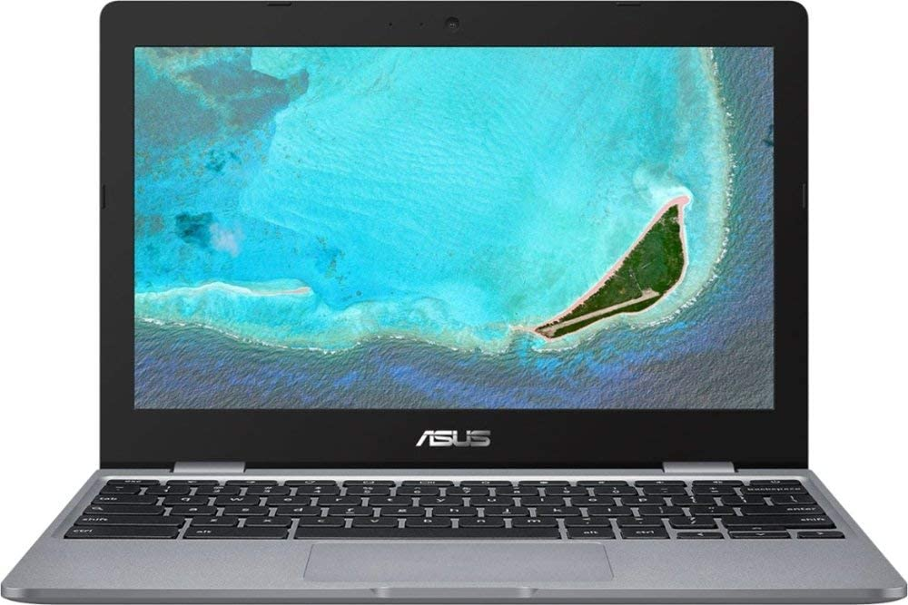 "ASUS 11.6"" Chromebook 4GB RAM 16GB eMMC Flash Memory Gray"
