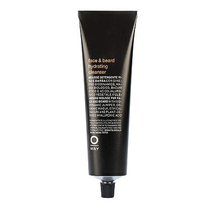 Limpiador hidratante para rostro y barba Oway Men: Amazon.es: Belleza