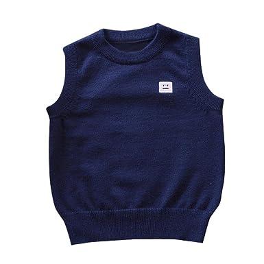 b7efccb1b026 Amazon.com  Digood Toddler Baby Kids Girls Boys Knitted Sweater ...