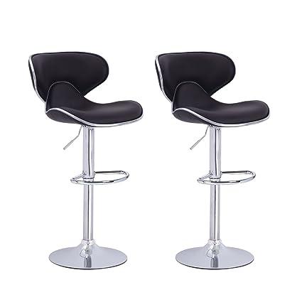 Super Amazon Com Adi 4488Bk Contemporary Air Lift Swivel Black Theyellowbook Wood Chair Design Ideas Theyellowbookinfo