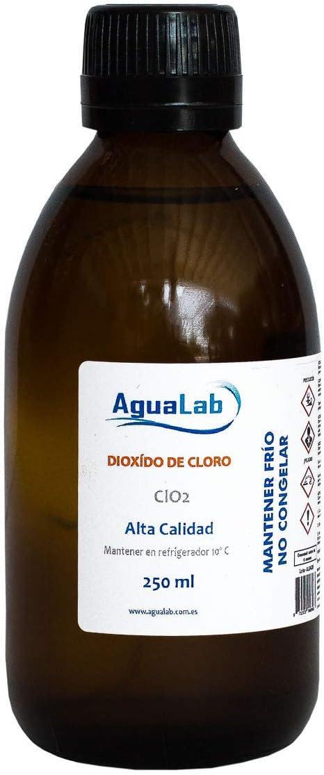 Dióxido de Cloro Agualab 250ml Cristal