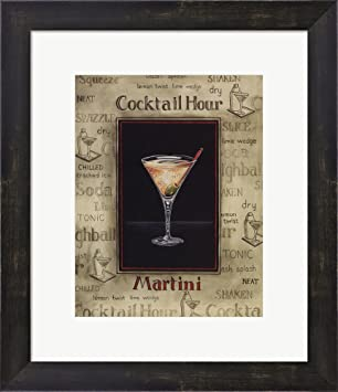 amazon com martini mini by gregory gorham framed art print wall