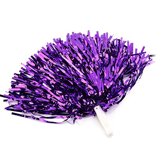 Cheerleading Poms 12 pcs Pompoms Cheer Costume Accessory