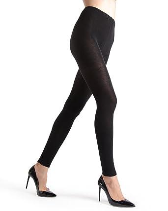 1f29e4acd5c8a Memoi Merino Wool Sweater Tights | Women's Luxury Hosiery at Amazon Women's  Clothing store: