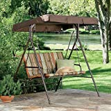 Garden Winds JCP 2-Person Swing Replacement Canopy Top Cover