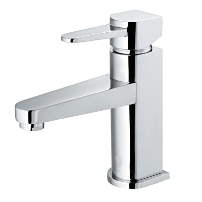 VIGO Soria Single Lever Basin Bathroom Faucet, Chrome