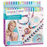 Make It Real – Floating Charm Locket - Blooming Creativity. DIY Locket Pendant and Charms Jewelry Making Kit for Girls. Guides Tweens to Design & Craft a Floating Locket Necklace and Charm Bracelets