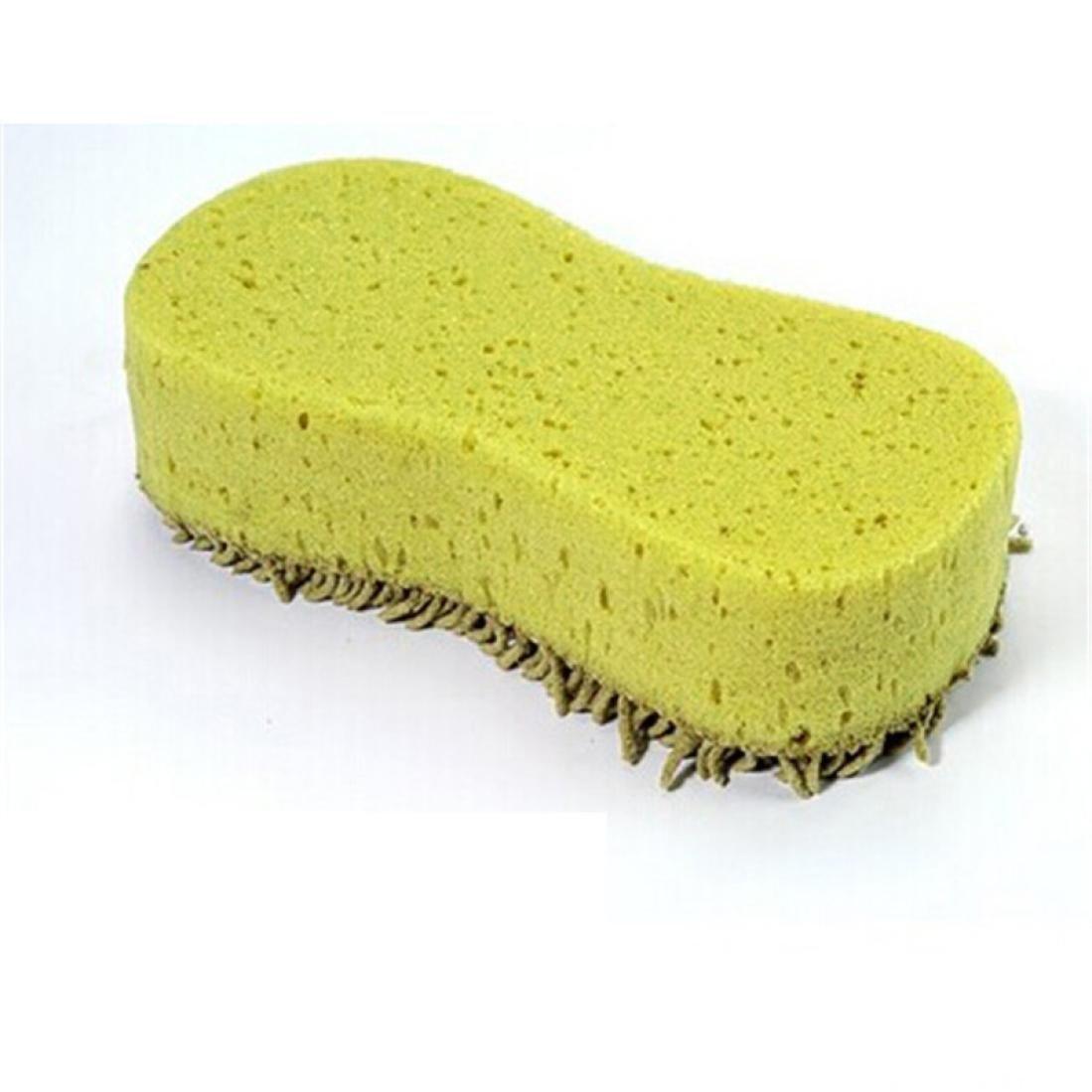 Amison Lavado prá ctica la limpieza del limpiador de microfibra Coral Esponja Cepillo para el coche auto