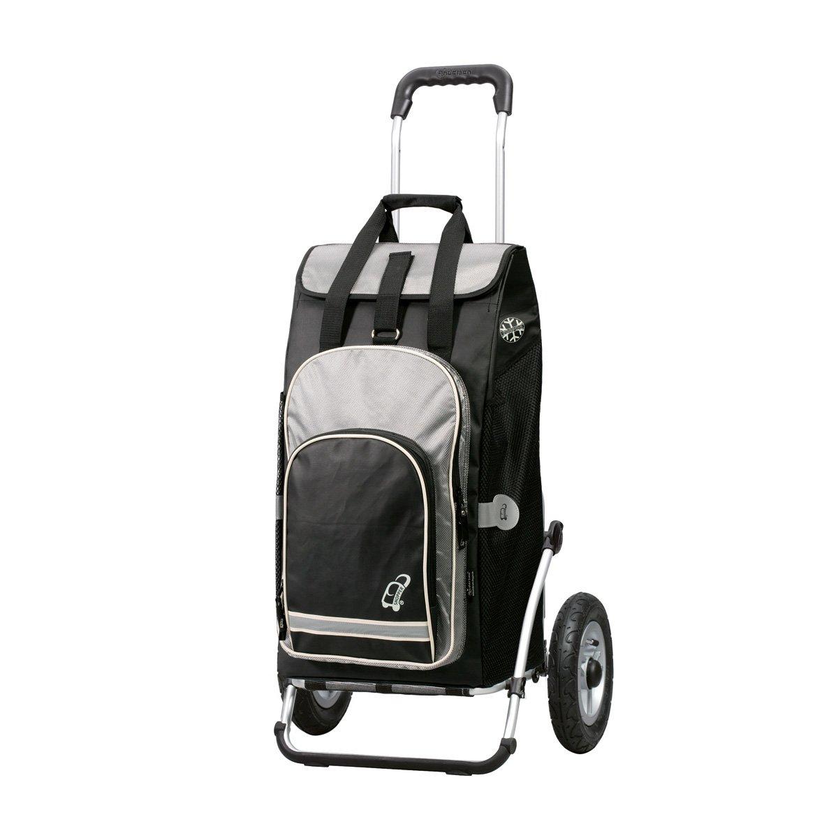 Royal Shopper mit Tasche Hydro schwarz (Luftreifen) B008HDC4UG Einkaufstrolleys