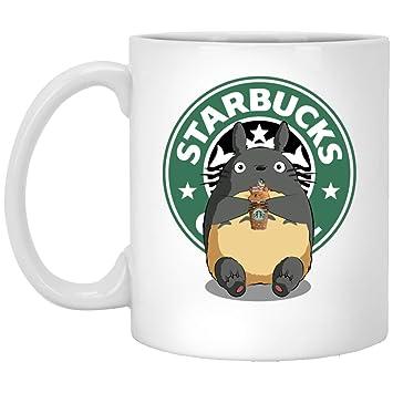 Amazon Com Big Chungus Star Bucks Funny 11 Oz White Mug Kitchen