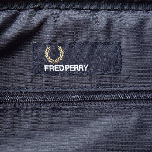 Fred Perry–Umhängetasche–Herren–klassische Schultertasche, braun und blau–Einheitsgröße