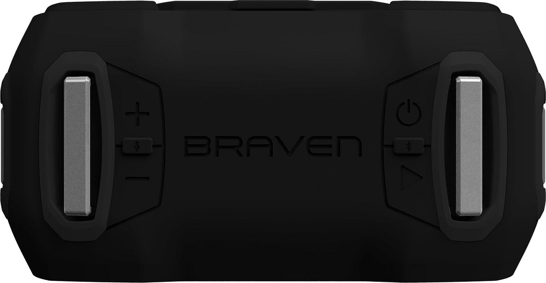Braven BRDYPROBBB Ready Pro Outdoor Waterproof Speaker-Black//Titanium