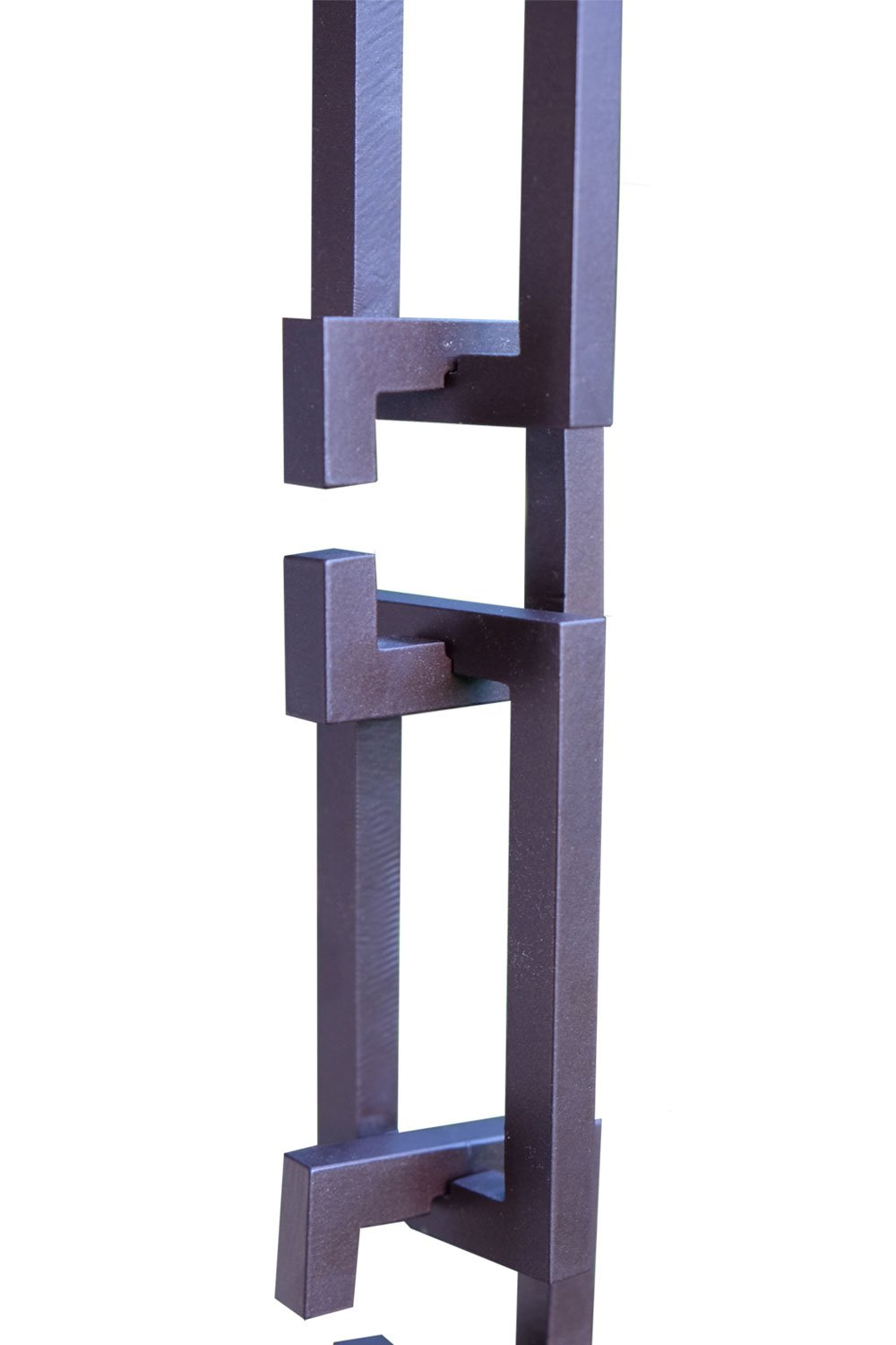 ARCHITECTURAL LINKS RAIN CHAIN - BRONZE WITH INSTALLATION KIT (11 Foot)