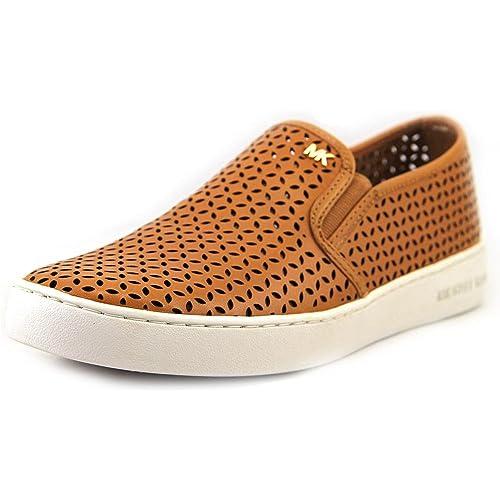 386a5096 Michael Kors Women's Olivia Peanut Leather Slip-On Sneakers 6.5 B(M) US  Women: Amazon.ca: Shoes & Handbags