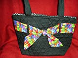 Autism Awareness Purse with Puzzle Sash, Bags Central