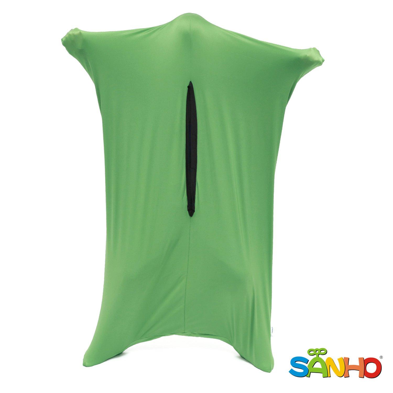 SANHO Dynamic Movement Sensory Sox, X-Large (Height 4'8''- 5'8''), Green